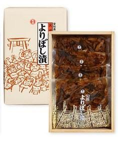 稲沢市名産よりぼし漬 国産の椎茸、昆布、なす、しその葉、ゴマをあわせて隠し味に山椒や唐辛子を入れた醤油漬け はりはり漬け 100g×