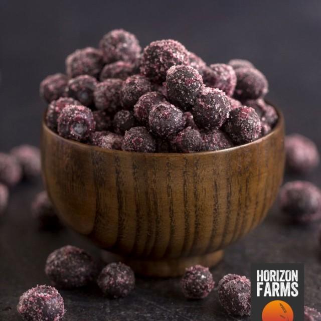 有機 JAS 認証 オーガニック 冷凍 ワイルド ブルーベリー 野生種 1kg カナダ産 無糖 無添加 砂糖不使用