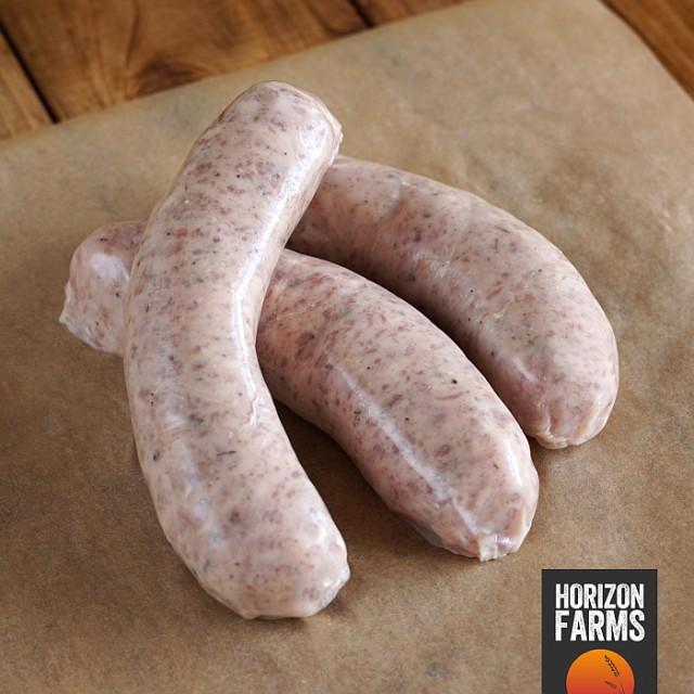 100% 無添加 砂糖不使用 放牧豚の豚肉使用 高品質 カントリースタイル 生ソーセージ 4本