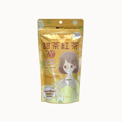 Tokyo Tea Trading 甜茶紅茶(健康茶 甜茶ポリフェノール含有 1杯用ティーバッグ 2g×30P)