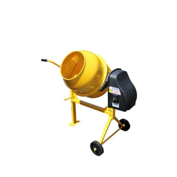 【メーカー直送の為代引き不可】■送料無料■アルミス 電動コンクリートミキサー まぜ太郎 AMZ-50Y 移動車輪付き メーカー1年保証付