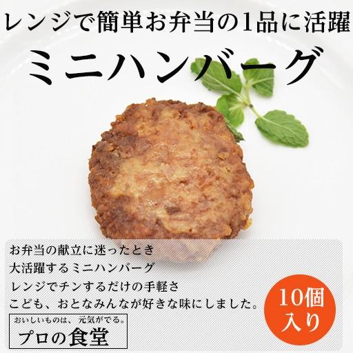 ハンバーグ お弁当用 10個入り ハンバーグ 柔らかい 惣菜 おかず 送料無料 人気