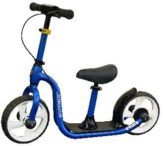 ジェイディージャパン  トレーニングバイク キックバイク キックスクーターに変身 ブレーキ付   TC-12-J-BL【カラー:ブルー】 SSL
