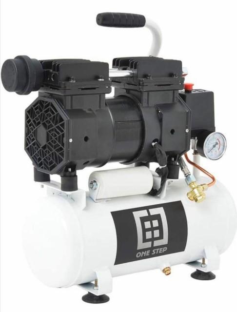 静音 エアーコンプレッサー 9L オイルレス 家庭用 業務用 1年保証