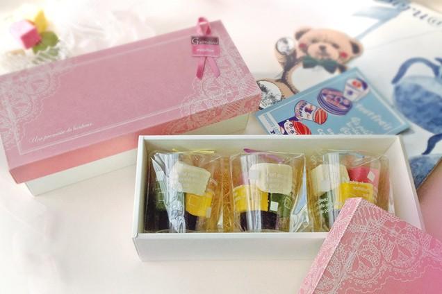 ギモーヴ ギフトBOX A ギモーヴ5個入りカップが3つ入ります 生マシュマロ お取り寄せスイーツ プレゼント ギフト プチギフト スイーツ 大