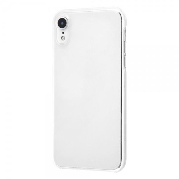 【冬セール・15%OFF】 レイアウト iPhone XR ハードケース 軽量 フレキシブル クリア