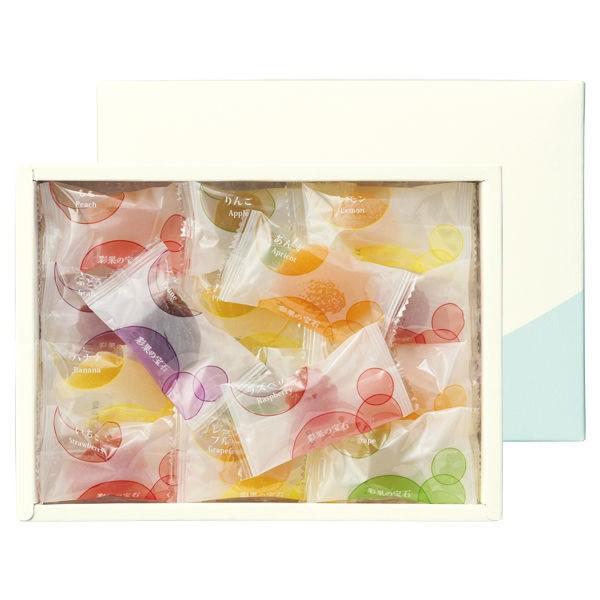 彩果の宝石 25個入り フルーツゼリーコレクション バラエティ ギフト 送料無料 お中元 お歳暮 敬老の日