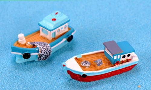 漁船 ヨット 船 テラリウム フィギュア アクアリウム ハーバリウム コケリウム スノードーム