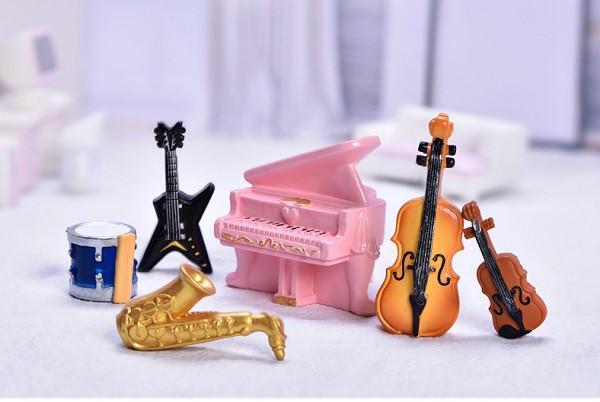 楽器 がっき 古筝 古琴 ドラム サックス バイオリン テラリウム ミニ フィギュア アクアリウム ハーバリウム 苔テラリウム スノードーム