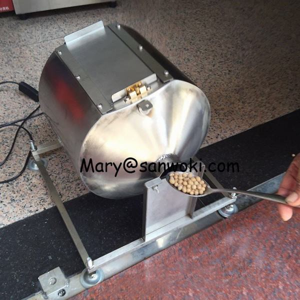 電動コーヒーロースター 回転式 大容量2?4kg用 コーヒー豆焙煎機 調理器具