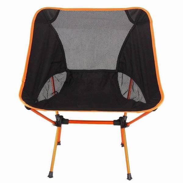 コンパクト 椅子 折り畳み 携帯式 釣り キャンプ チェア アウトドア 椅子 ローチェア ムーンチェア ソファ式 メッシュタイプ 夏 収納袋付