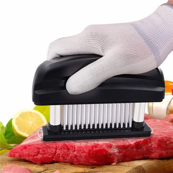 肉筋切り器 ミートテンダライザー 肉たたき お肉が柔らかくなる