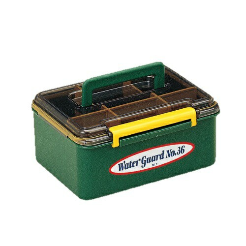 General MEIHO ウォーターガード No.36(グリーン) 明邦化学(メイホー) 日本製 ツールボックス 工具箱 防滴仕様