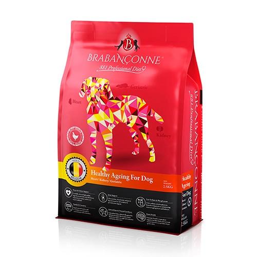 ≪まとめ買い割引20%OFF≫ブラバンソンヌ - シニア犬用 チキン 2.5Kg×6袋セット(15Kg)