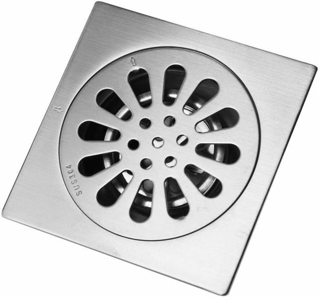 床ドレン 排水フィルター 排水口カバー フロアドレン バスルーム キッチン シャワー 廃棄物 放水口 お風呂 浴室 トイレ 洗面所 排水