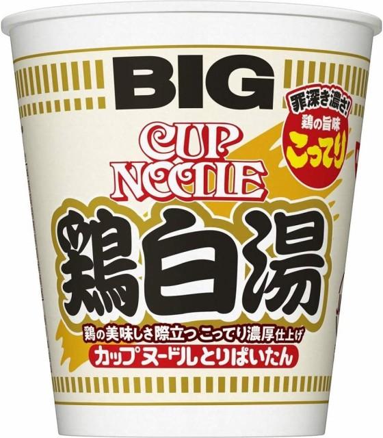 【Go In Eat】日清 カップヌードル 鶏白湯 ビッグ 105g ×4個