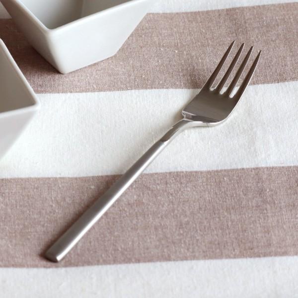 PRALINE(プラリネ)デザートフォーク フォーク ステンレス 高品質 カトラリー ホテル食器 洋食器 シンプル おもてなし おしゃれ【ゆうパ