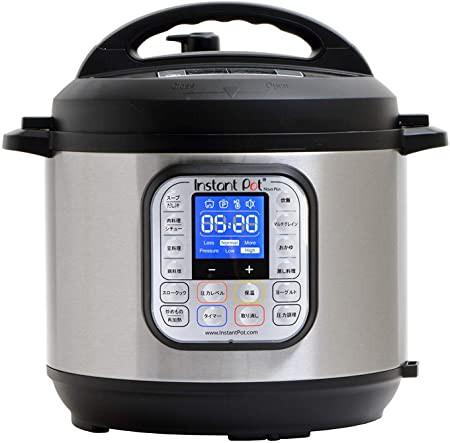 【国内正規輸入品】マルチ電気圧力鍋 Instant Pot(インスタントポット) 1台9役 Nova Plus 6.0L ISPCNV6