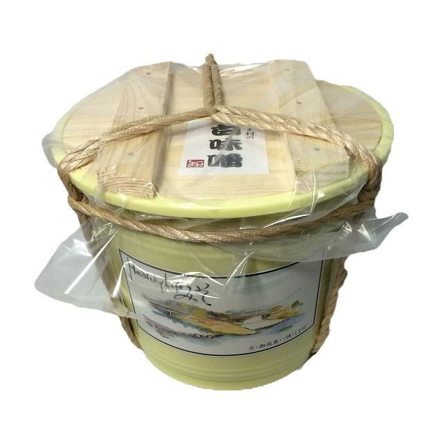 白味噌 味噌汁 雑煮 しま村の白味噌4kgポリ樽入り 味噌 みそ汁 西京味噌 京都 お土産 送料無料 業務用