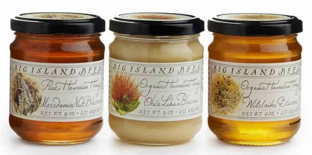 生蜂蜜 ハワイお土産 生ハチミツ お試し3種類 オヒアレフアハニー マカダミアナッツハニー ウイレライキハニー127g