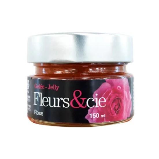 ローズジャム Fleurs cie(185g入)プリザーブドジャム ピュアローズ100% バラの花びらが丸ごと入った贅沢なお花のジャム カナダ産