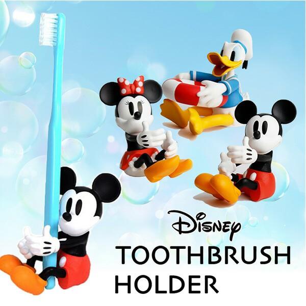 ハブラシホルダー/歯ブラシホルダー/ハブラシスタンド/Disney/ミッキー/ミニー/ドナルド/ディズニーコレクション/(190-15)/ペン立て/グッ