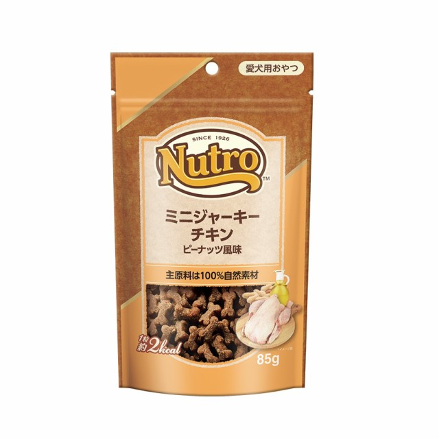ニュートロ ミニジャーキー チキン ピーナッツ風味85g