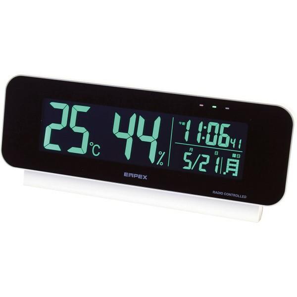 電波時計付デジタル温湿度計 TD-8262 【のし包装可】_