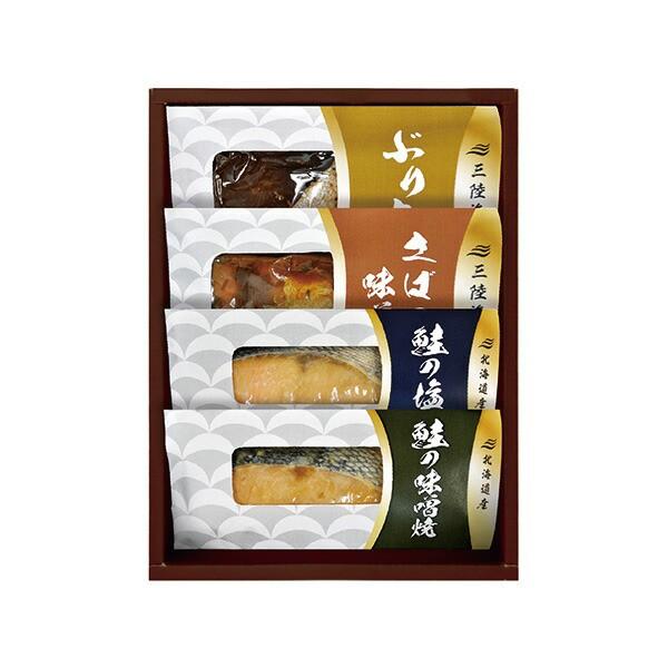 北海道産鮭の切身&三陸産煮魚 DIM-20 【のし包装可】_
