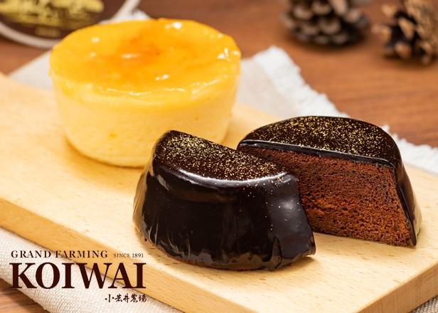【数量限定】小岩井農場 ショコラケーキ&りんごのチーズケーキセット【スイーツ ギフトボックス】
