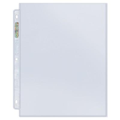 ウルトラプロ (Ultra Pro) 1ポケット シート 8.5x11 #211D | 1-Pocket Platinum Page with 8-1/2 X 11 Pocket