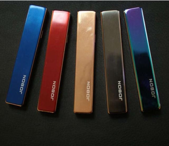 電熱 USB 電子 ライター 充電式 JOIN 上品スリムライター5色 熱線 オイル ガス不要 防災グッズ 防災用品 ライター タバコ たばこ