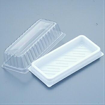 KH−17白 本体・フタセット 50入 和容器 和菓子製菓用品 製パン サンドイッチ テイクアウト 使い捨て