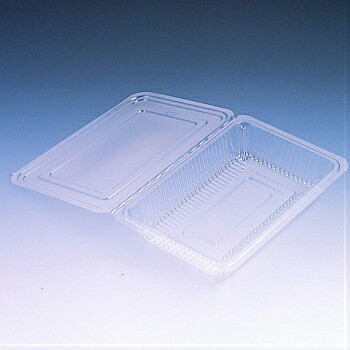 フードパック 大平 100入 使い捨て 惣菜 持ち帰り 折蓋タイプ 食品容器 業務用