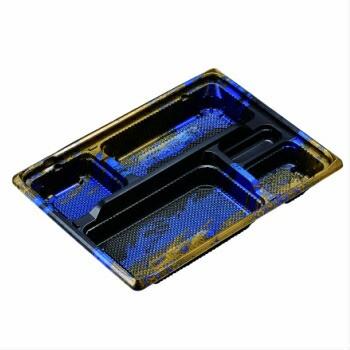 KE−3B 青竜 透明蓋付 50入 弁当容器 テイクアウト 使い捨て レンジ対応 仕切り 業務用