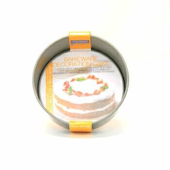 ベイクウェアデコレーション底取型 15 富士ホーロー フッ素樹脂 焼型 洋菓子 家庭用 業務用