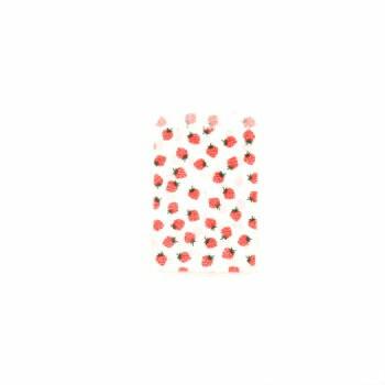 平袋 8号 いちご 400枚入り レターパック対応 紙袋 ラッピングバック 小分け ギフト 業務用