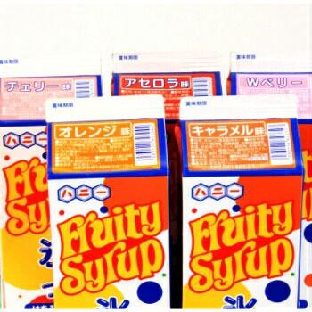 ハニー 氷蜜 シロップ 業務用 1.8L チェリー Wベリー オレンジ キャラメル かき氷 シロップ