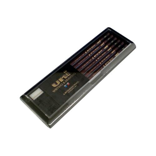 三菱鉛筆 鉛筆 ユニ 9H U9H 00000572【まとめ買い3打セット】