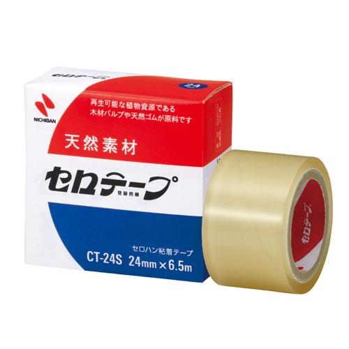 ( お徳用 30セット ) ニチバン セロテープ CT-24S 24mm×6.5m