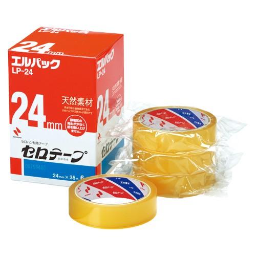( お徳用 2セット ) ニチバン セロテープ Lパック LP-24 24mm×35m 6巻 ×2セット