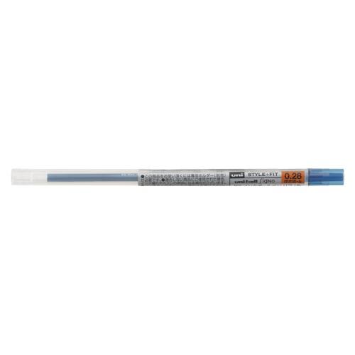 ( お徳用 30セット ) 三菱鉛筆 ボールペン替え芯/リフィル 【0.28mm】 ゲルインク UMR10928.64ブルーブラック