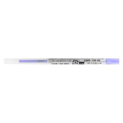 ( お徳用 30セット ) 三菱鉛筆 ボールペン替え芯/リフィル 【0.55mm】 ゲルインク UMR10905.12 バイオレット