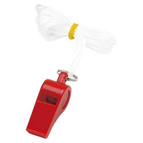 【60個セット】銀鳥産業 カラーホイッスル パック入り 赤 YO-CWRF