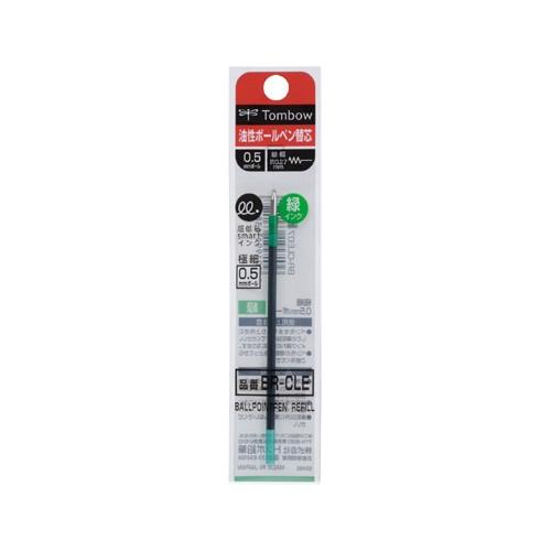 トンボ鉛筆 ボールペン替芯 CLE 緑 BR-CLE07 00022775【まとめ買い10個セット】