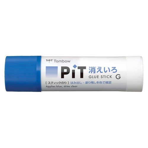トンボ鉛筆 スティックのり 消えいろピットG PT-GC 【 3セット】