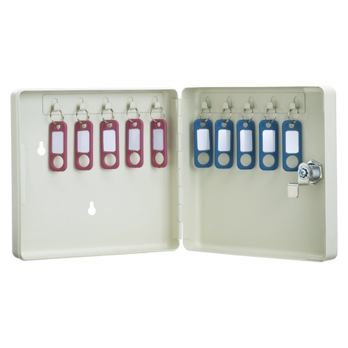 カール事務器 キーボックス 10個収納 CKB-C10-I