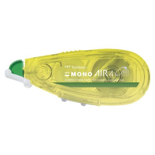 トンボ鉛筆 修正テープ モノエアー つめ替え式 本体 4.2mm カラータイプ CT-CAX4C61