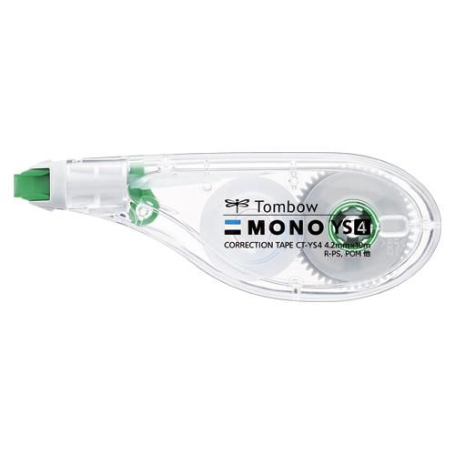 トンボ鉛筆 修正テープ ヨコ型 モノYS 幅4.2mm 10個 CT-YS4