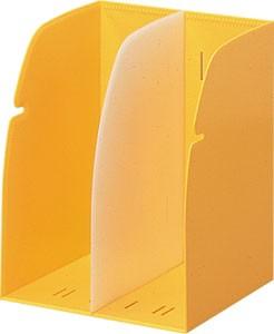 リヒトラブ REQUEST ブックスタンド 2ブロック 黄 G1620-5 1個 ×4セット